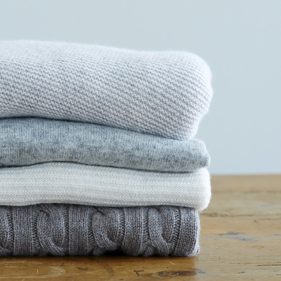 How To Keep Your Cashmere and Wool Clothing Sweater Weather Ready