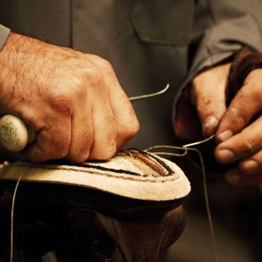 Hand crafted shoe repairs