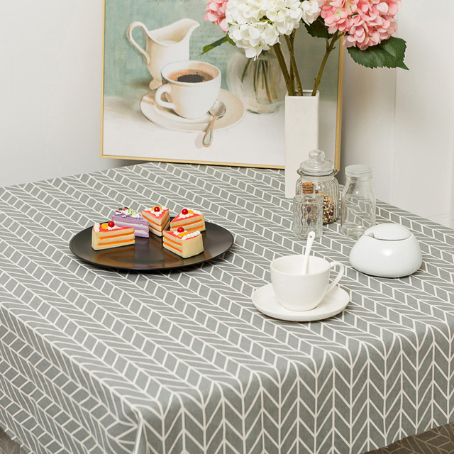 Tablecloth under 5m