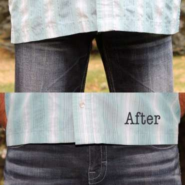 Shirt shorten