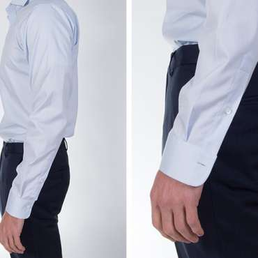 Shirt shorten sleeves